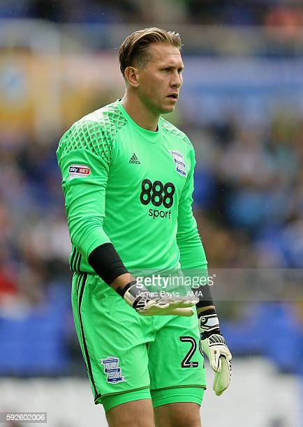 Tomasz Kuszczak of Birmingham City during the Sky Bet Championship match between Birmingham City and Wolverhampton Wanderers at St Andrews on August...