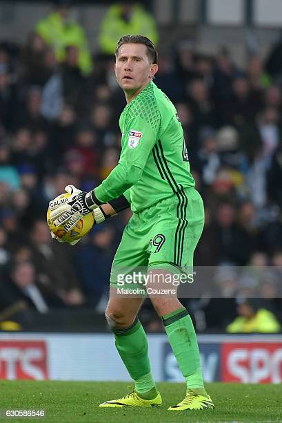 Tomasz Kuszczak of Birmingham City during the Sky Bet Championship match between Derby County and Birmingham City at iPro Stadium on December 27 2016...