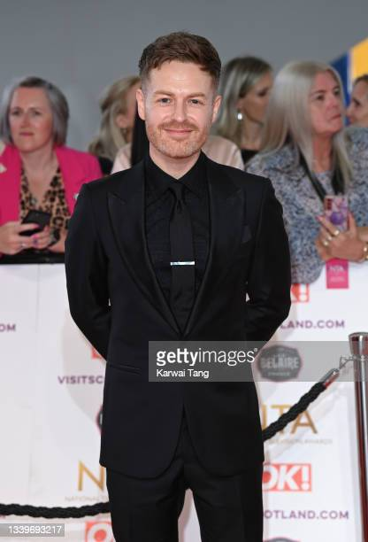 Tomasz Schafernaker attends the National Television Awards 2021 at The O2 Arena on September 09, 2021 in London, England.
