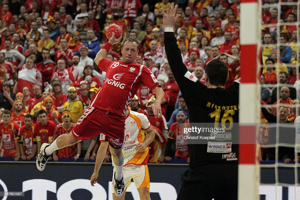 Poland v Macedonia - Men's European Handball Championship 2012