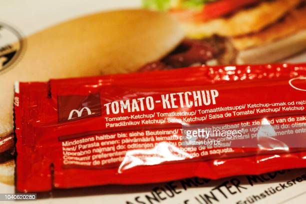 Tomatenketchup bei Mc Donalds