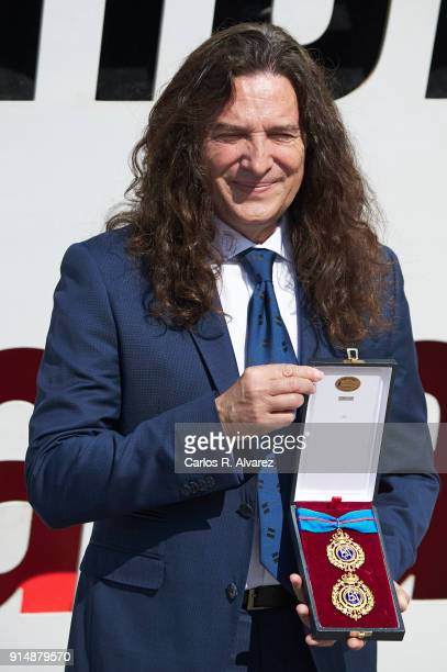 Tomatito attends the Gold Medals of Merit in Fine Arts 2016 ceremony at the Pompidou Center on February 6 2018 in Malaga Spain
