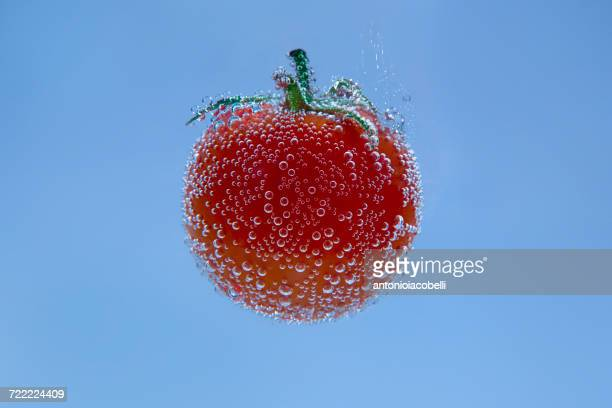 Tomato in mineral water