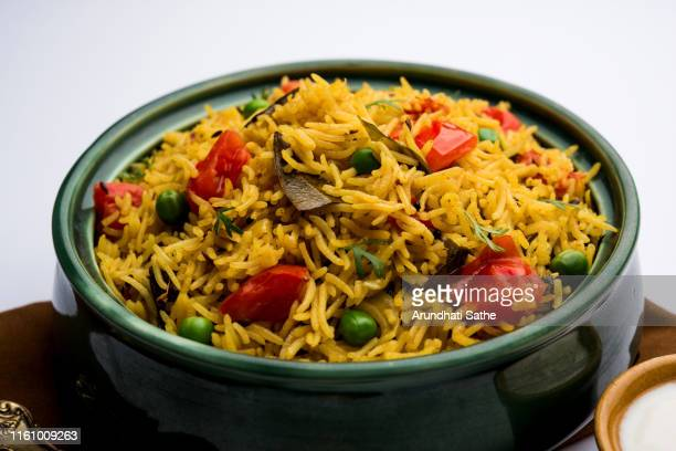 tomato pulavpilaf made using basmati rice