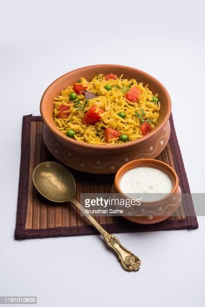 tomato pulavpilaf made using basmati rice