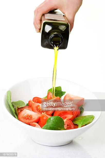 Tomatensalat mit Olivenöl