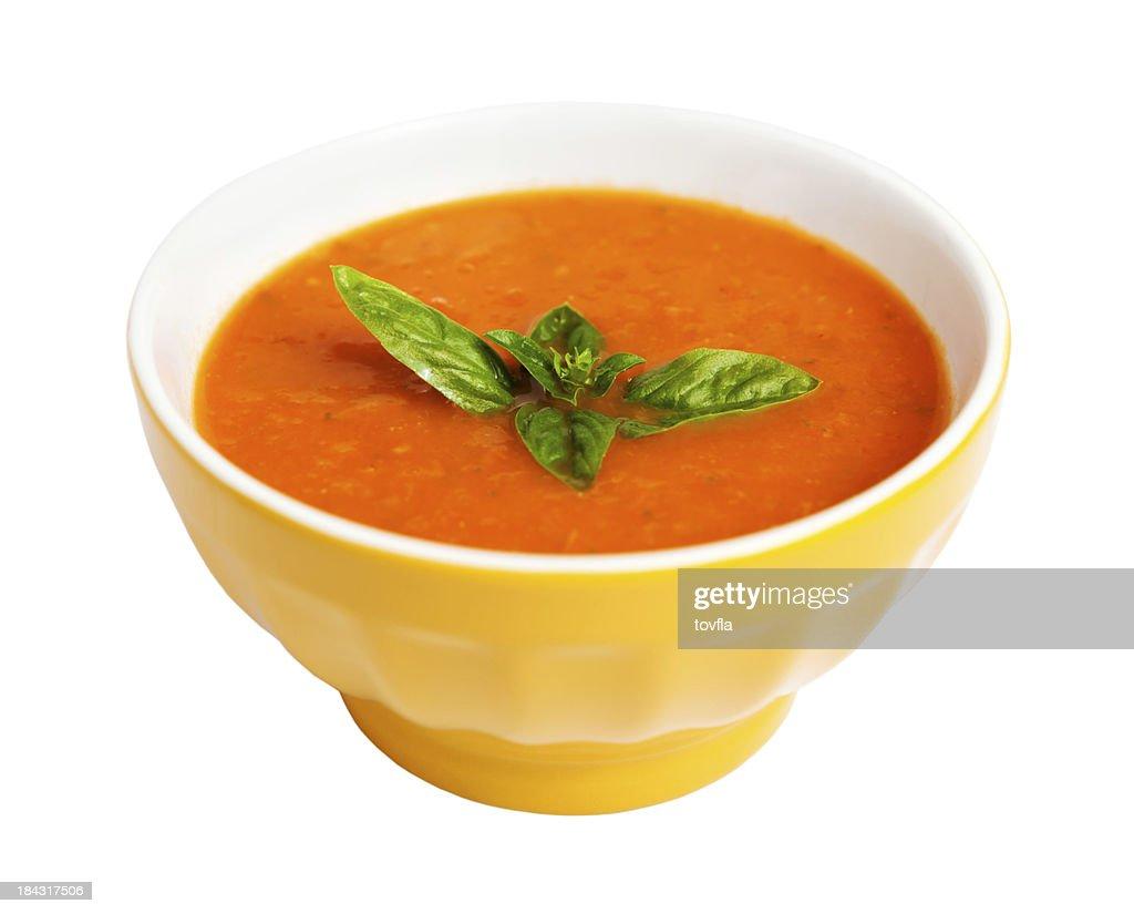 Tomatensuppe : Stock-Foto