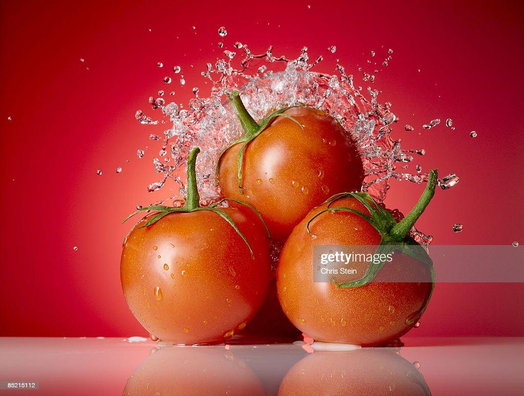 Tomato Splash : Stock Photo