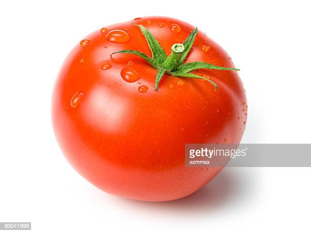 Tomate mit clipping path