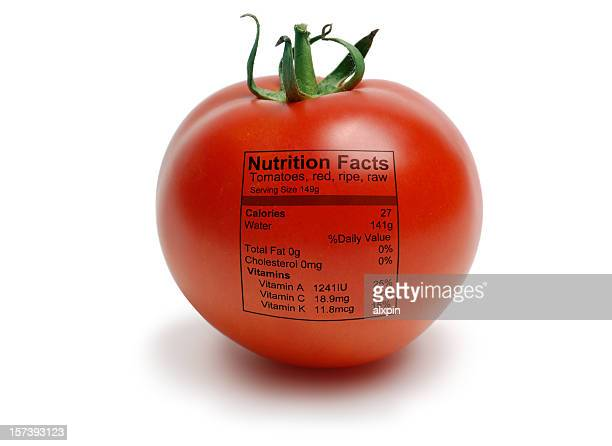 Tomatoe with nutriton facts