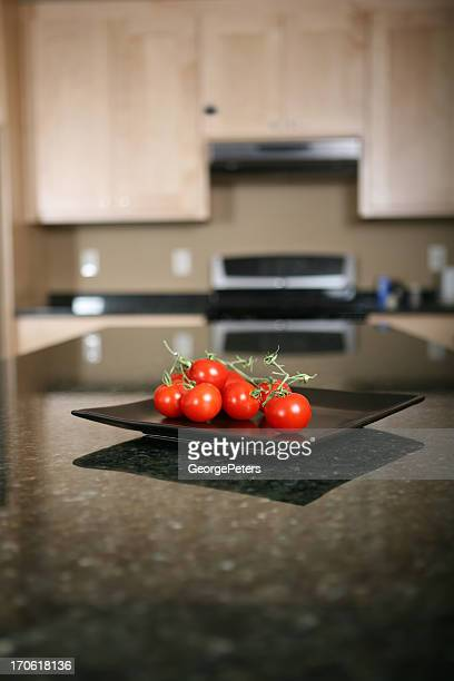 Tomatoes and Remodeled Kitchen