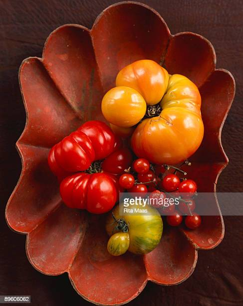 Tomatoes in scalloped dish