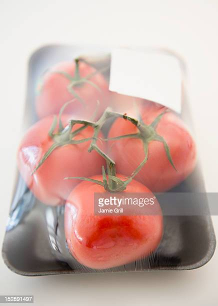 Tomatos in packaging