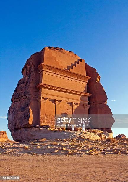 Tomb at Madain Saleh Saudi Arabia