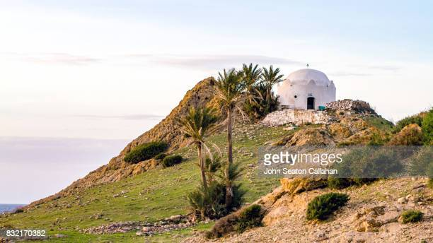 tomb of a muslim saint near annaba - annaba algeria stock pictures, royalty-free photos & images