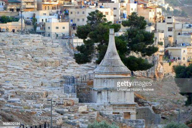 Tomb of Absalom an ancient monumental rockcut tomb in the Kidron Valley in Jerusalem Although traditionally ascribed to Absalom the rebellious son of...