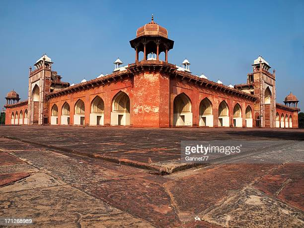 Tomb of Akbar the Great at Sikandra, near Agra