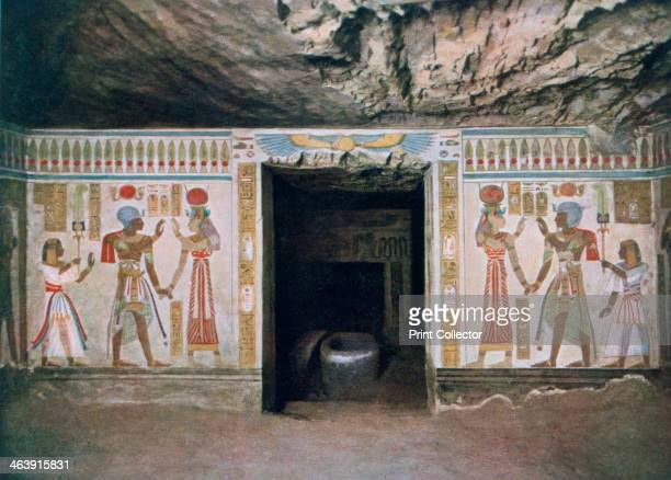 Tomb of Amunherkhepeshef son of Rameses II Thebes Egypt 20th century Amunherkhepeshef was the firstborn son of Rameses II and Nefertari He died in...