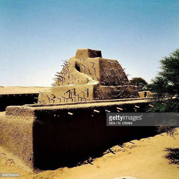 Tomb of Askia Mohamed Emperor of Songhai Gao Mali 15th century