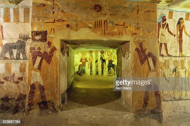 Tomb of Bannantiu Mural Paintings