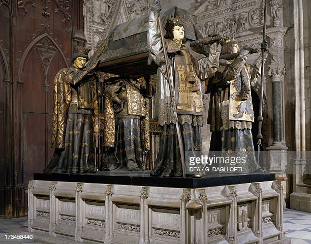 Tomb of Christopher Columbus Seville Cathedral Spain