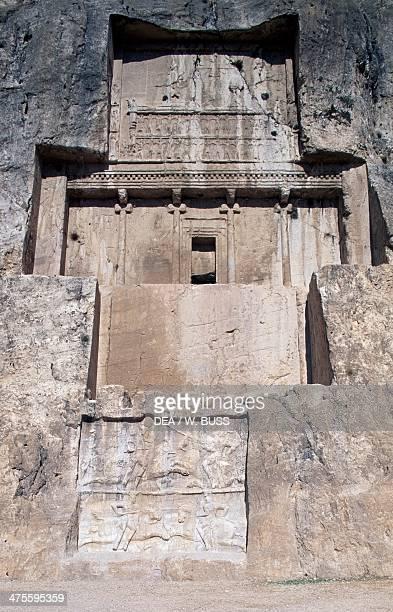 Tomb of Darius I Achaemenid king NaqshE Rustam Persepolis Iran Achaemenid civilisation 6th century BC