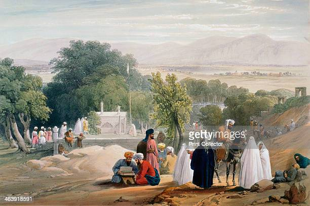 Tomb of Emperor Babur, First Anglo-Afghan War 1838-1842. Babur was the Islamic conqueror of India who founded the Mughal dynasty. The British fought...