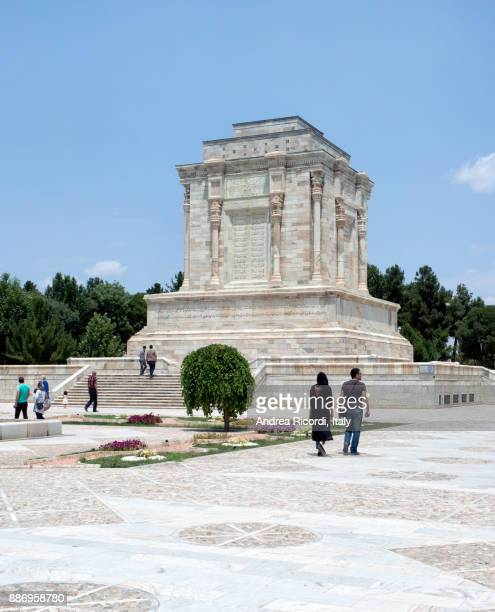 Tomb of Ferdowsi, famous persian poet. Tus, Iran.