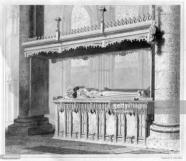 Tomb of Henry IV and his Queen Joan of Navarre in Canterbury Cathedral 1825 Henry IV became the first king of the House of Lancaster when he took the...