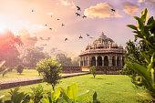 Tomb of Isa Khan at Humayun's Tomb, Delhi, India- CNGLTRV1109