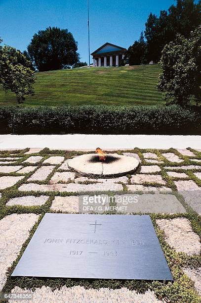 Tomb of John Fitzgerald Kennedy Arlington National Cemetery Arlington Virginia United States of America