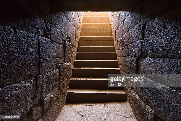 tomb of king kaleb and gebre meskel. - tomb stock pictures, royalty-free photos & images