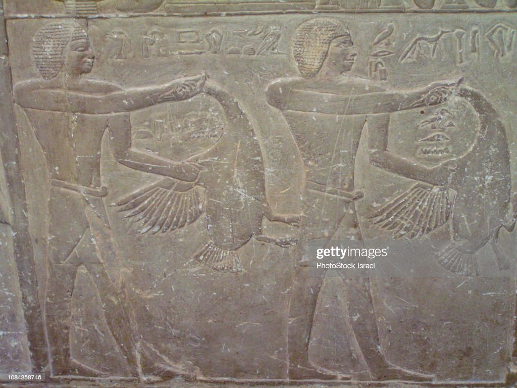 Tomb of Mereruka Saqqara, Giza, Egypt : Stock Photo