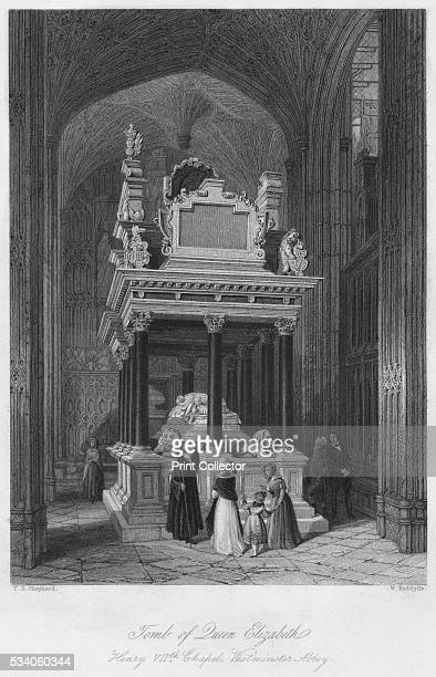Henry VII's Chapel Westminster Abbey' from 'London Interiors with their Costumes Ceremonies from Drawings made by permission of the Public Offices '...