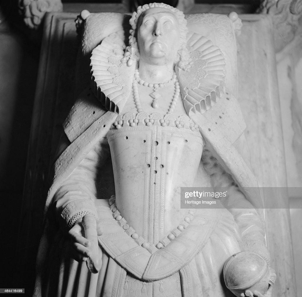 Tomb of Queen Elizabeth I, Westminster Abbey, London, 1945-1980. Artist: Eric de Maré : Fotografía de noticias