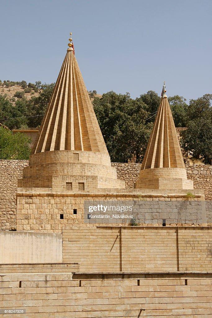 Tomb of Sex Adi, Lalish, Kurdistan Region : Stock Photo