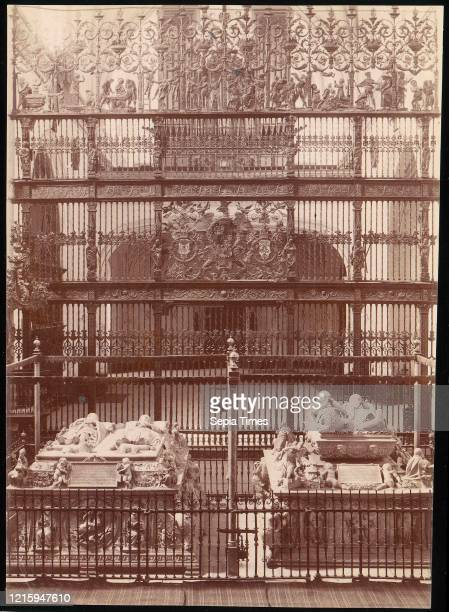 Tomb of the Catholic Kings, Granada, 1880s-90s, Albumen silver print from glass negative, Photographs, Unknown.
