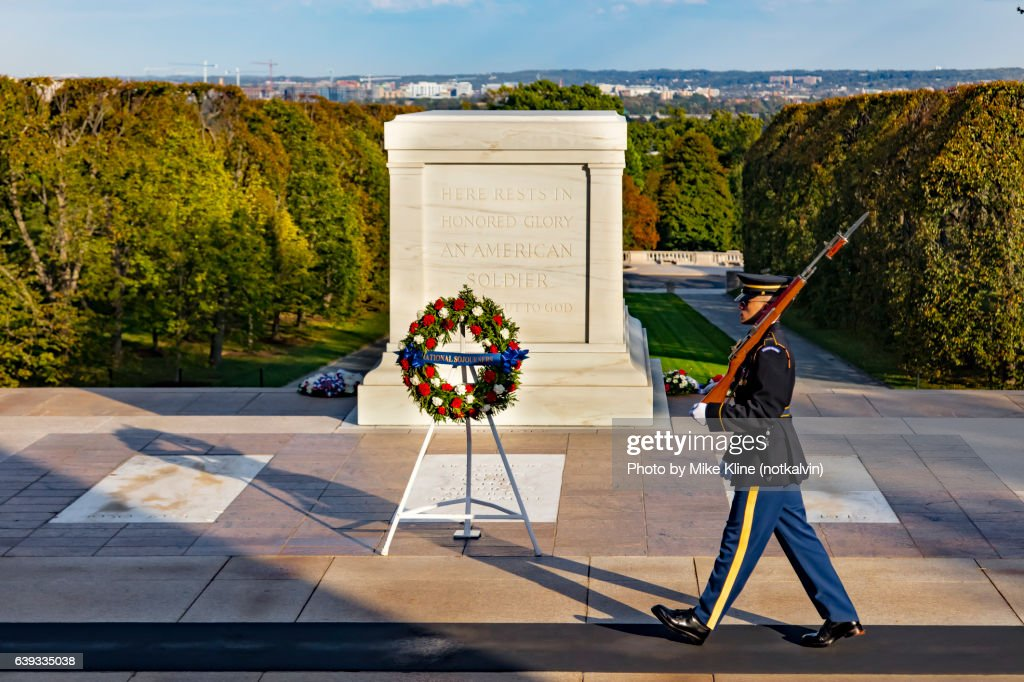 Tomb of the Unknown : Stock Photo