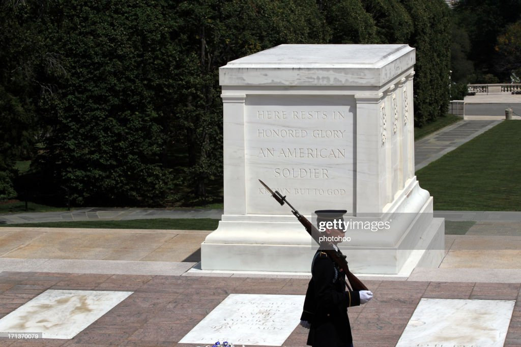 Tomb of the Unknown Soldier - Arlington : Stock Photo
