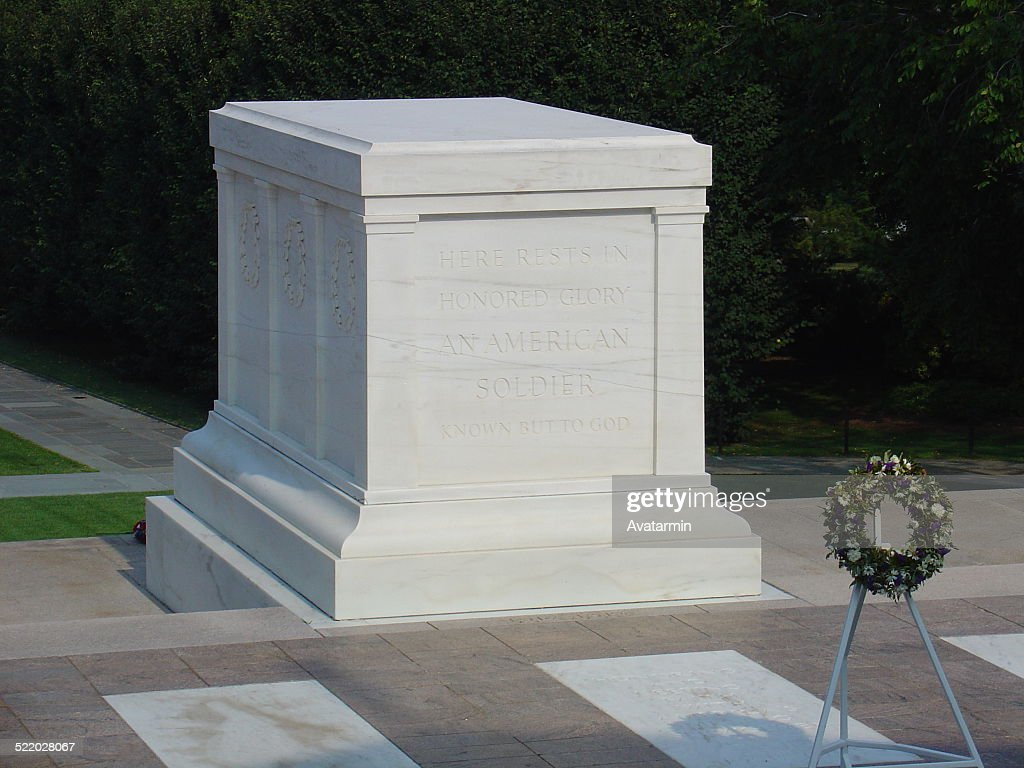 Tomb of the unknown soldier : Stock Photo