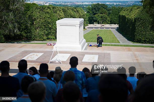 Tomb of the Unkown Soldier at Arlington National Cemetery