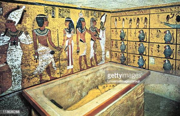 The Curse Of King Tuts Tomb Torrent: Sarcophagus Containing Gold Coffin Of The King Which Held