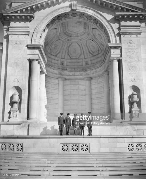 Tomb of Unknown Soldier Arlington National Cemetery Arlington Virginia USA Harris Ewing October 1938