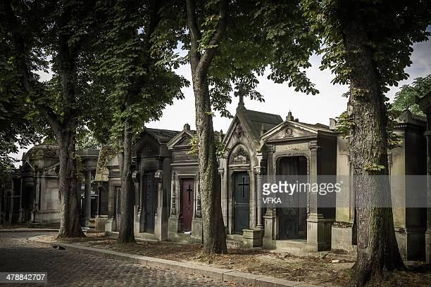 Tombs at Père Lachaise Cemetery, Paris