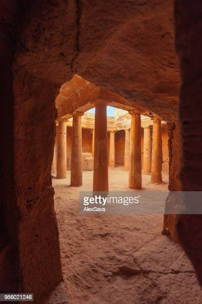 Tombs of the Kings in Cyprus