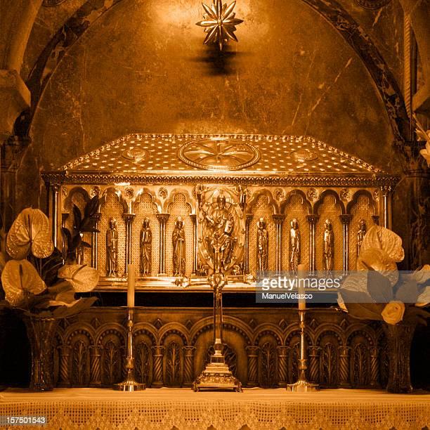 tomb's st james - tumba de santiago - santiago de compostela stock pictures, royalty-free photos & images