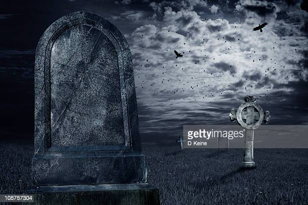 tombstone - cemetery stock pictures, royalty-free photos & images