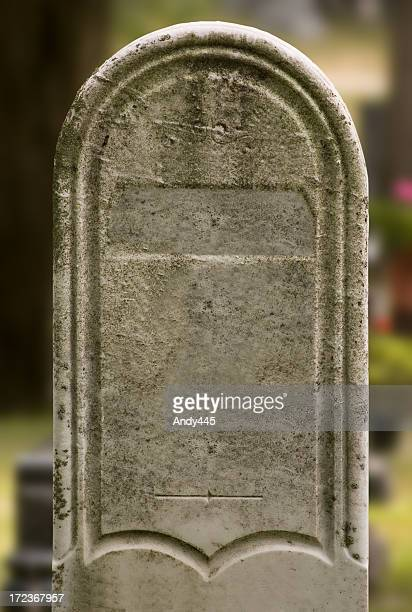 tombstone#2 (mit clipping path - grabmal stock-fotos und bilder