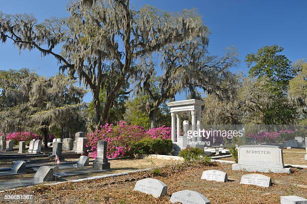Tombstones at Bonaventure Cemetery in Savannah