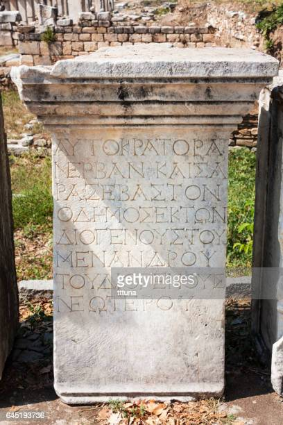 Tombstones in Aphrodisias